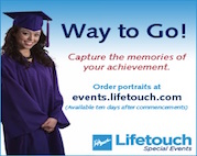 order graduation portraits at Lifetouch