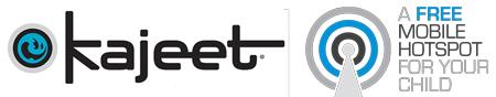 Kajeet - a free mobile hotspot for your child