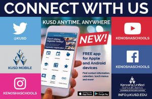 Connect with us on Twitter, KUSD Mobile, Instragram, YouTube, Facebook, or email.