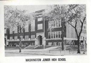 Washington Jr. High School in 1920